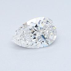 Recommended Stone #2: 0.57-Carat Pear Cut Diamond