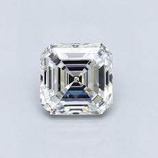0.76 Carat 上丁方形 Diamond 非常好 G VVS1