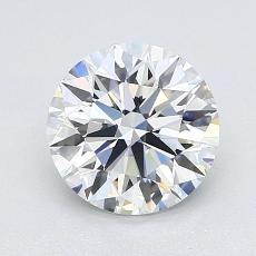 1.53 Carat 圓形 Diamond 理想 G IF