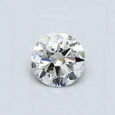 Recommended Stone #4: 0.48-Carat Round Cut Diamond