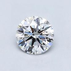 Recommended Stone #4: 0.88-Carat Round Cut