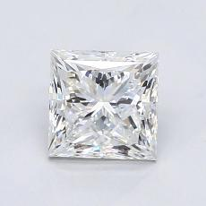 Recommended Stone #2: 1.27-Carat Princess Cut