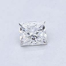 Recommended Stone #4: 0.51-Carat Princess Cut Diamond