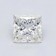 1.02 Carat 公主方形 Diamond 非常好 G VVS1