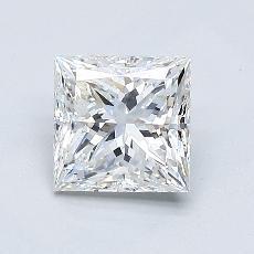 1.01-Carat Princess Diamond Very Good E VS1
