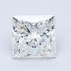 2.02-Carat Princess Diamond Very Good E VS1