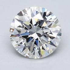 Pierre recommandée n°4: Diamant taille ronde 2,00 carat