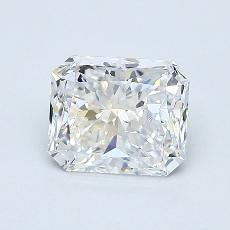 Recommended Stone #4: 0,90-Carat Radiant Cut Diamond
