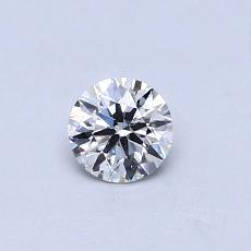 Recommended Stone #4: 0.37-Carat Round Cut Diamond
