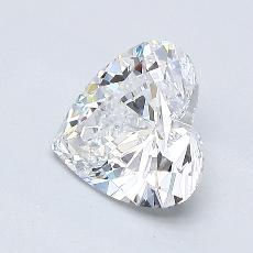 Recommended Stone #2: 1.01-Carat Heart Shaped