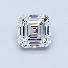 Recommended Stone #2: 0.81-Carat Asscher Cut Diamond