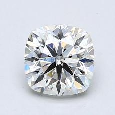 0.90-Carat Cushion Diamond Good I VS1