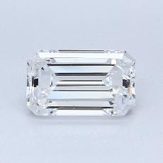 Recommended Stone #4: 1.32-Carat Emerald Cut Diamond