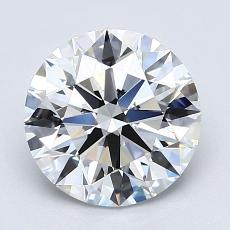 Recommended Stone #1: 2.18-Carat Round Cut Diamond