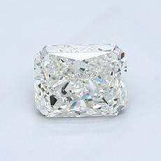 1.01-Carat Radiant Diamond Very Good I SI2