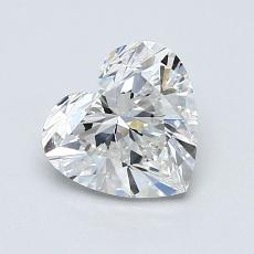 Recommended Stone #3: 1.15-Carat Heart Cut Diamond