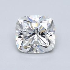 1.07-Carat Cushion Diamond Very Good F VS2
