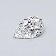 Recommended Stone #4: 0.40-Carat Pear Cut Diamond