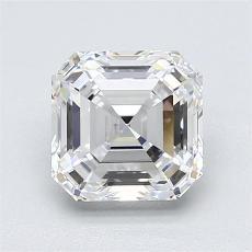 Recommended Stone #4: 1.60-Carat Asscher Cut Diamond