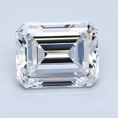 Recommended Stone #1: 1,75-Carat Emerald Cut Diamond