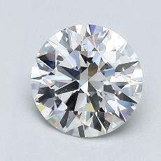 Recommended Stone #3: 1.34-Carat Round Cut