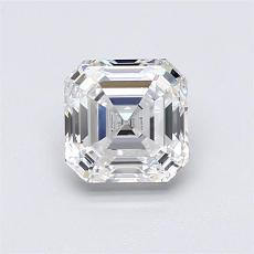 1.01-Carat Asscher Diamond Very Good F VVS1