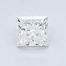 1.01 Carat 公主方形 Diamond 非常好 G VS2