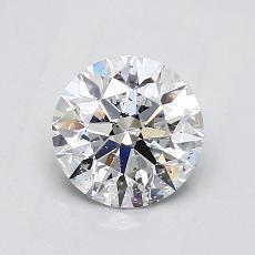 1.02 Carat 圆形 Diamond 理想 D SI2