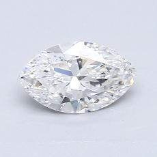 Recommended Stone #4: 0.75-Carat Marquise Cut Diamond
