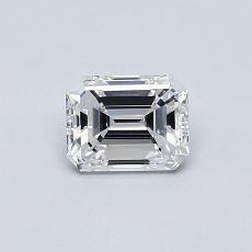 Pierre recommandée n°1: Diamant 0,51carat taille émeraude