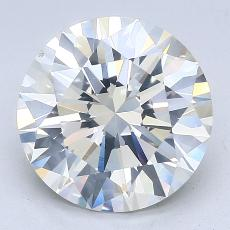 Recommended Stone #3: 3.19-Carat Round Cut Diamond