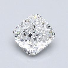 1.01-Carat Cushion Diamond Very Good E SI1