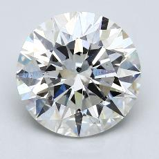 Recommended Stone #2: 4.72-Carat Round Cut Diamond