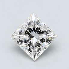 1,02 Carat Princesse Diamond Idéale Astor I VS1