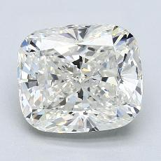 3,51-Carat Cushion Diamond Very Good G VVS1