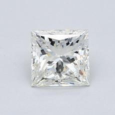 Pierre cible: Diamant taille princesse 1,00 carat