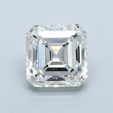 Pierre recommandée n°3: Diamant taille Asscher 1,06 carat