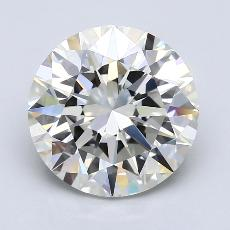 4.01-Carat Round Diamond Ideal J VS1
