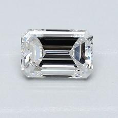 0.80 Carat 绿宝石 Diamond 非常好 E VS1