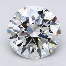 推荐宝石 2:4.71克拉圆形切割钻石