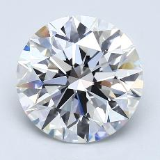 4.02 Carat 圓形 Diamond 理想 E VVS2