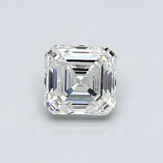 Piedra objetivo: Diamante de talla Asscher de 0.66 quilates