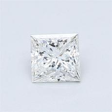Recommended Stone #4: 0.64-Carat Princess Cut