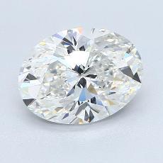 3.01 Carat 椭圆形 Diamond 非常好 F VS1