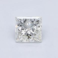 Recommended Stone #4: 0.78-Carat Princess Cut Diamond