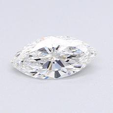 推薦鑽石 #4: 0.50  克拉欖尖形切割鑽石