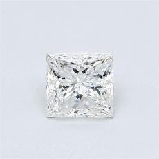 推荐宝石 4:0.60 克拉公主方形钻石
