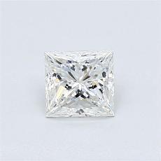 Recommended Stone #4: 0.61-Carat Princess Cut Diamond