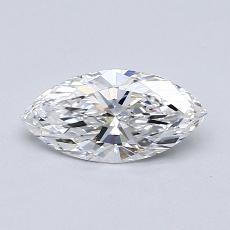 Recommended Stone #4: 0.58-Carat Marquise Cut