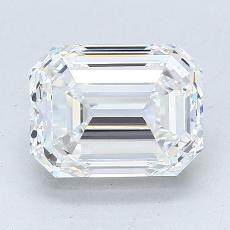 Recommended Stone #2: 2.60-Carat Emerald Cut Diamond
